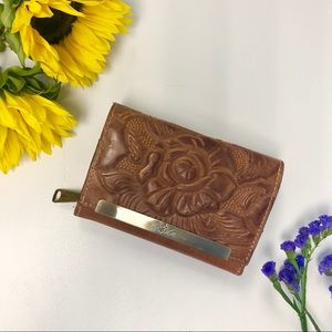Patricia Nash Cametti Tooled Leather Wallet